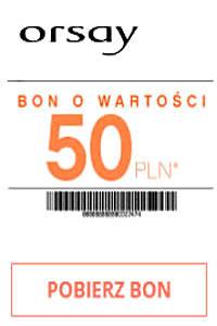 Orsay Katalog i bon 50 zł