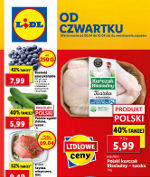 Lidl gazetka spożywcza